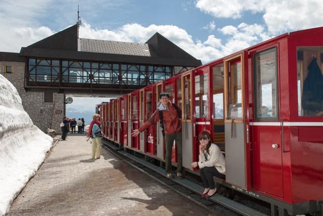蜜月 D6 - St. Wolfgang - Schafberg 登山火車 1