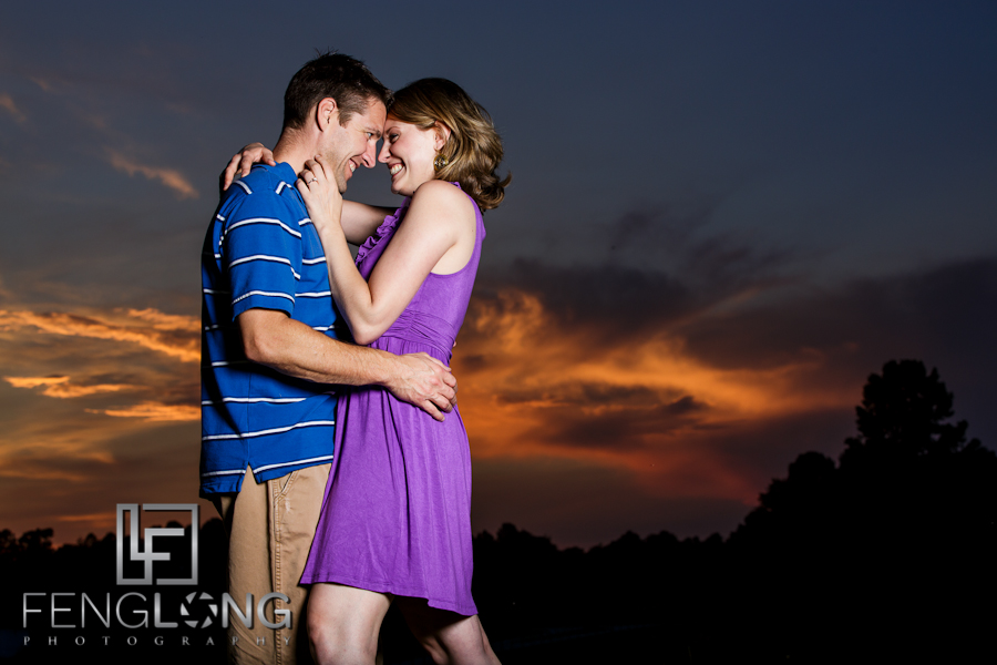 Angela & Mike's Engagement Session | Georgia Countryside & Downtown Gainesvlle | Buford Wedding Photographers