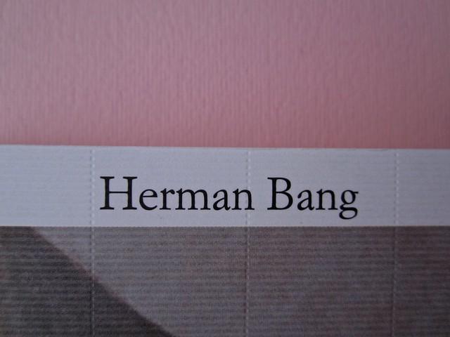 Herman Bang, La casa grigia, Iperborea 2012; [resp. grafiche non indicate]. Copertina (part.), 2