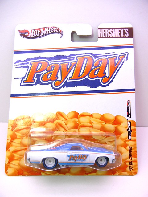 hot wheels nostalgia hersheys payday '71 el camino (1)