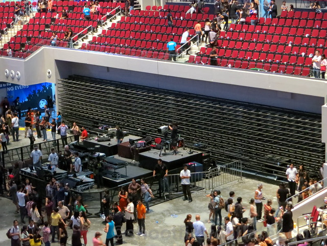 Lady Gaga at the SM Mall of Asia Arena-038