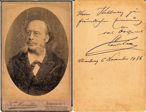 Unknown - Strasburg 1886