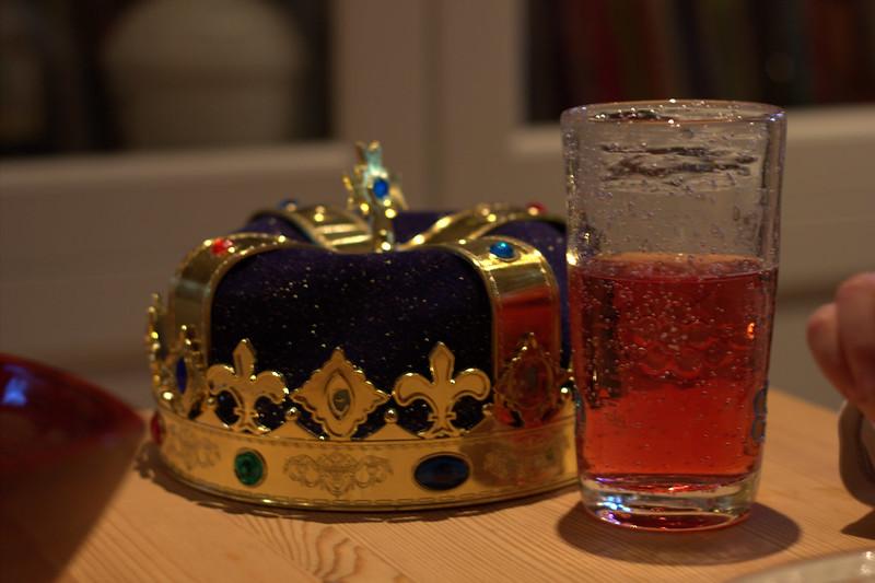 kongelig kveldsmat.
