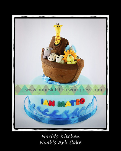 Norie's Kitchen - Noah's Ark Cake by Norie's Kitchen