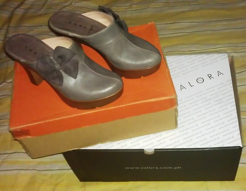 My first Zalora shoes order
