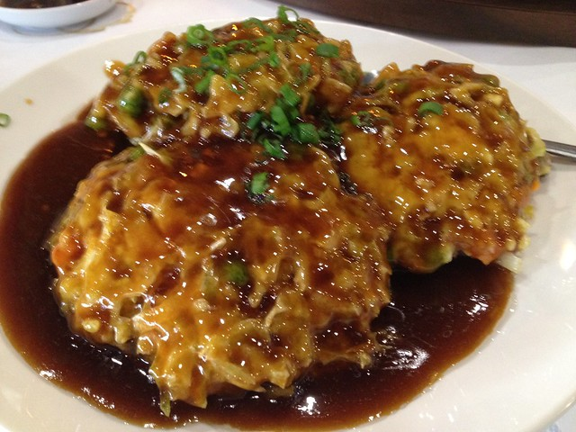 Egg foo young Xiao Long Bao Kitchen