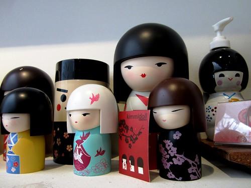 Zen, Sibu - Japanese dolls