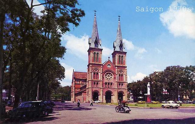 Catholic Cathedral in Saigon