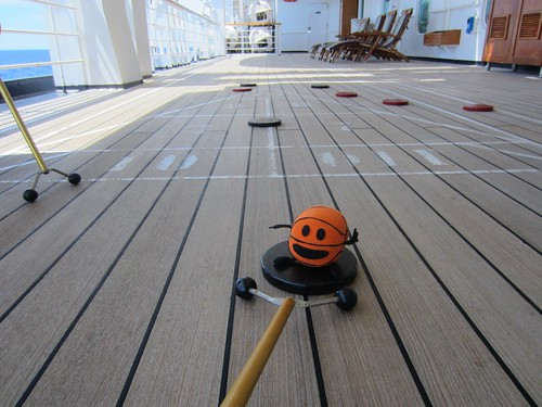 bally playing shuffleboard