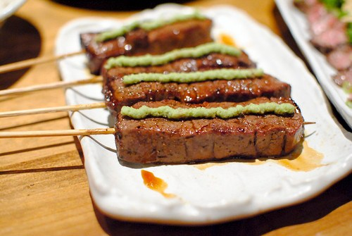 filet with wasabi