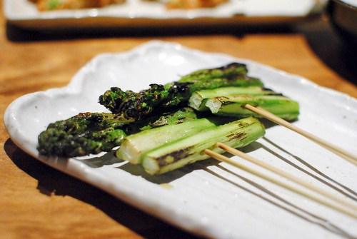 asparagus robata