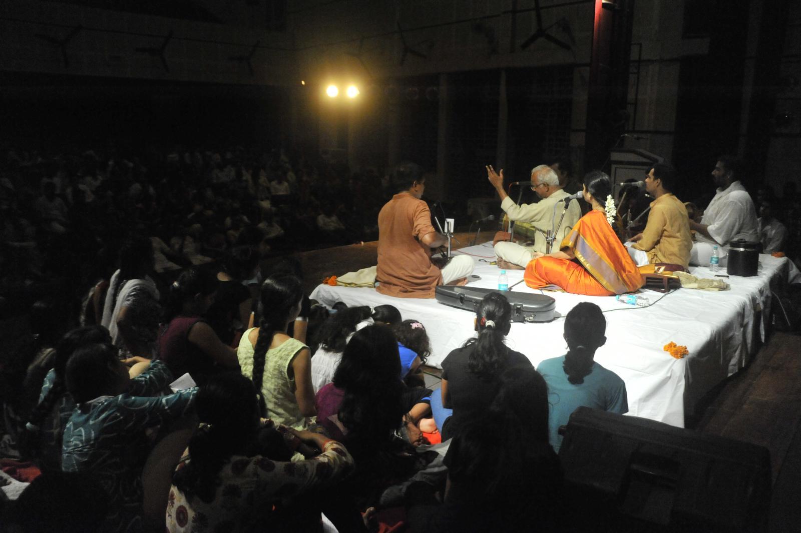 took breath away, T V Sankaranarayanan, Carnatic Vocal