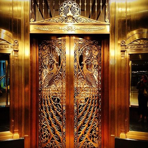 Front entrance details