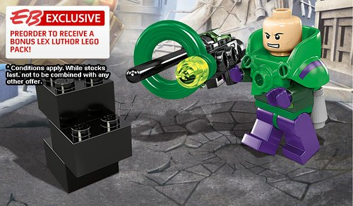 Exclusive Preorder LEGO Lex Luthor Minifigure