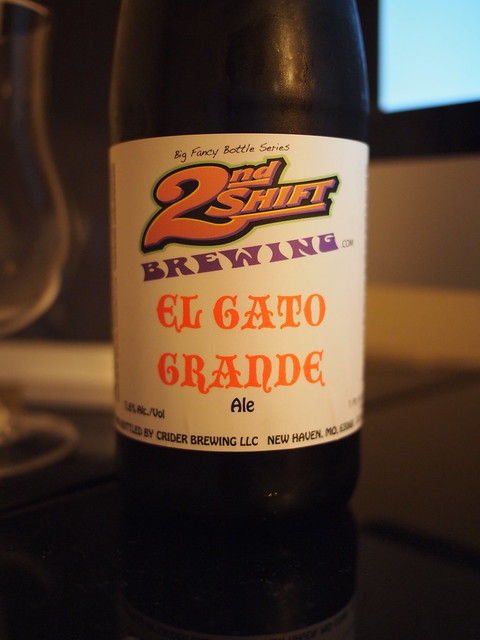 El Gato Grande - 2nd Shift Brewery - New Haven, MO