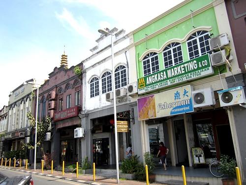 Sibu - Old Street