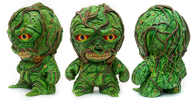"Swamp Thing 7"" Custom Munny"