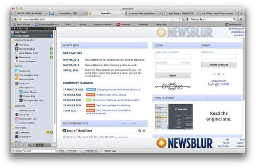 newsblur start