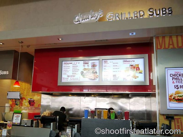 Century City Mall Food Court- Charley's Grilled Subs