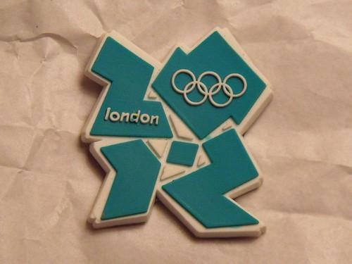 London 2012 fridge magnet