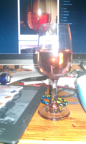 161/366 [2012] - a Glass of Wine by TM2TS