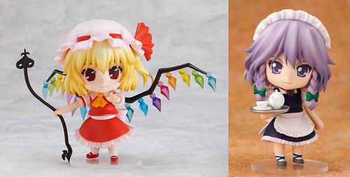 Nendoroid Flandre Scarlet and Izayoi Sakuya