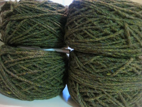 Aran Wool from Kerry Woollen Mills in Ireland