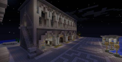 Minecraft Market Building Flickr Photo Sharing