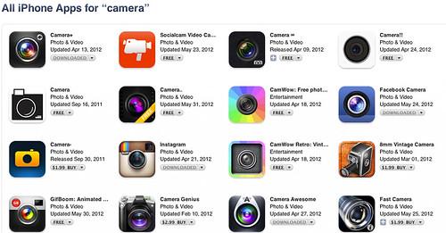 Facebook Camera Has Branding Issues