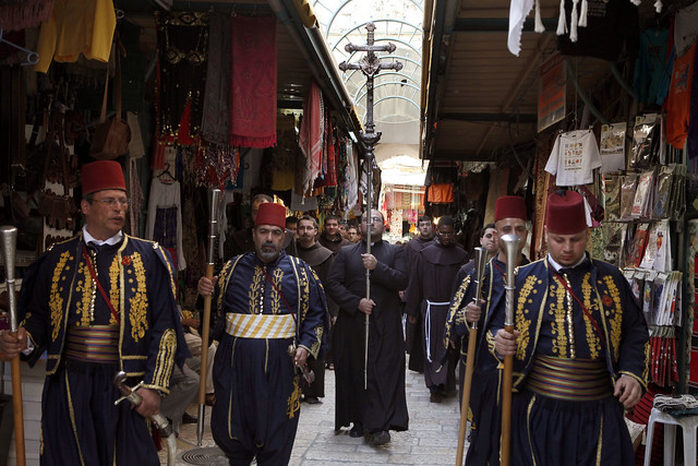 Kawases Lead Holy Thursday Procession in the Old City