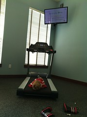 Mornings at the Fitness Center by Proud Mum