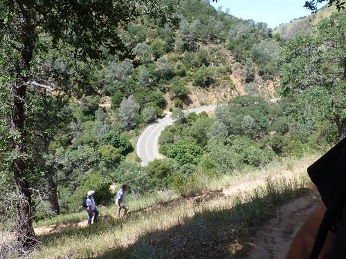 5-5-12 CA - Winters Canyon Creek Resort 8 Hike Up