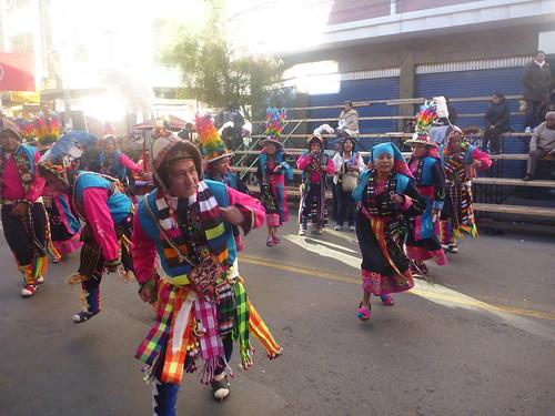 Dancers at El Gran Poder