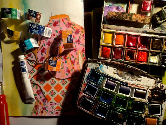 watercolour studies