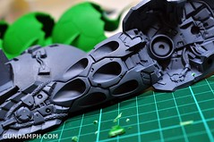 1-100 Kshatriya Neograde Version Colored Cast Resin Kit Straight Build Review (68)