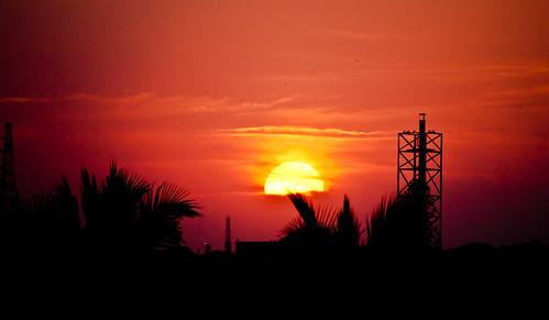 Sun set again! by Saad Faruque
