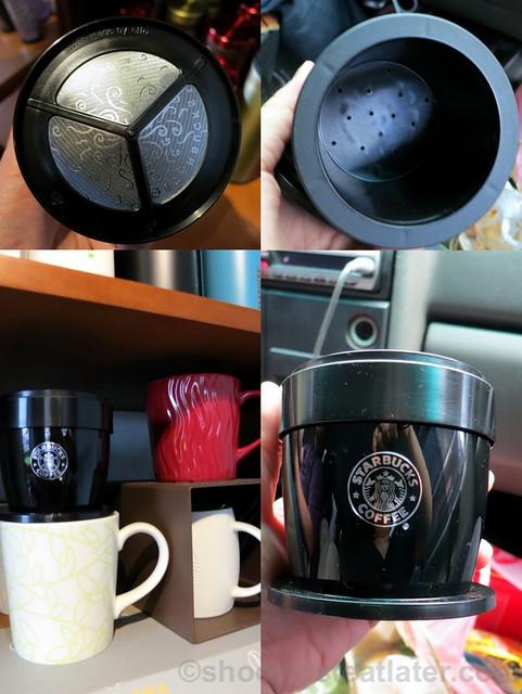 Starbucks Taipei 14th Anniversary sale- Starbucks single drip coffee filter