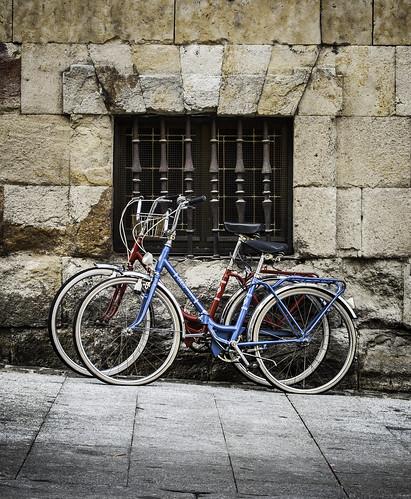 """145/365 """"La pareja de las bicicletas"""" by Flickr Jiménez (Pedro Nog)"""