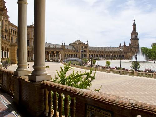 Arcada de la Plaza de España