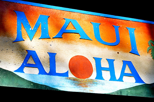 maui aloha sign