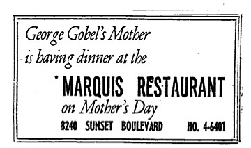 gobel mother 1955