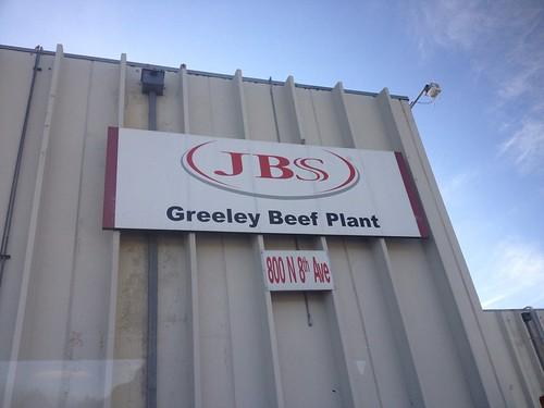 JBS Greeley plant