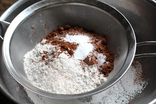 sift those dry ingredients