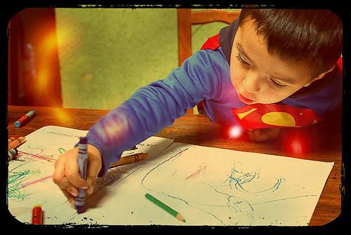 Miguelito Dibujando