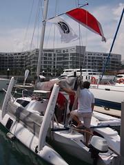 Catamaran, Boat Asia 2012, Marina @ Keppel Bay