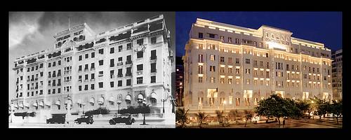 Copacabana Palace, Rio de Janeiro - Then&Now
