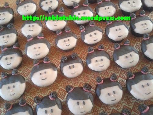 Minicupcake face