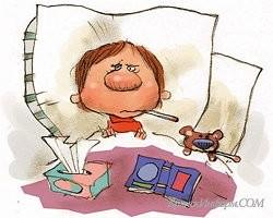 flu cartoon (courtesy: examiner.com)