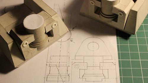 WALL-E papercraft project