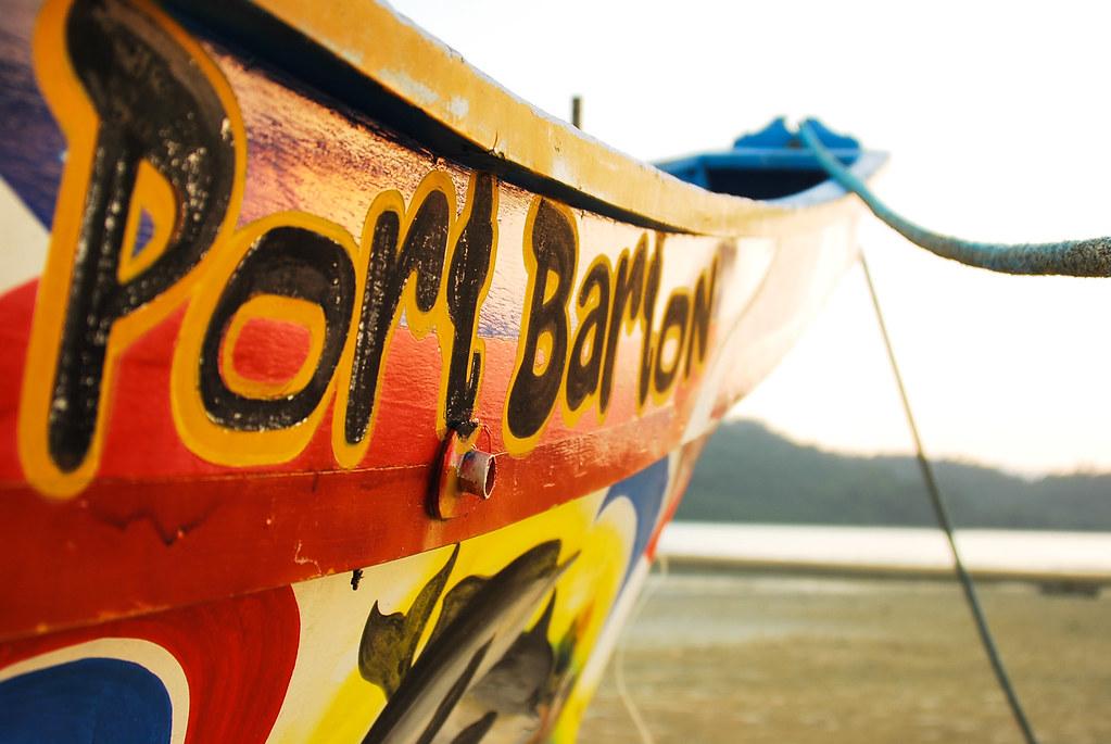Port Barton, San Vicente, Palawan, Outrigger, Boat, Bangka